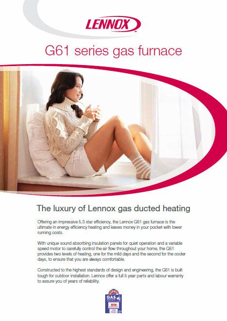 Lennox-Gas-Furnace-G61-series